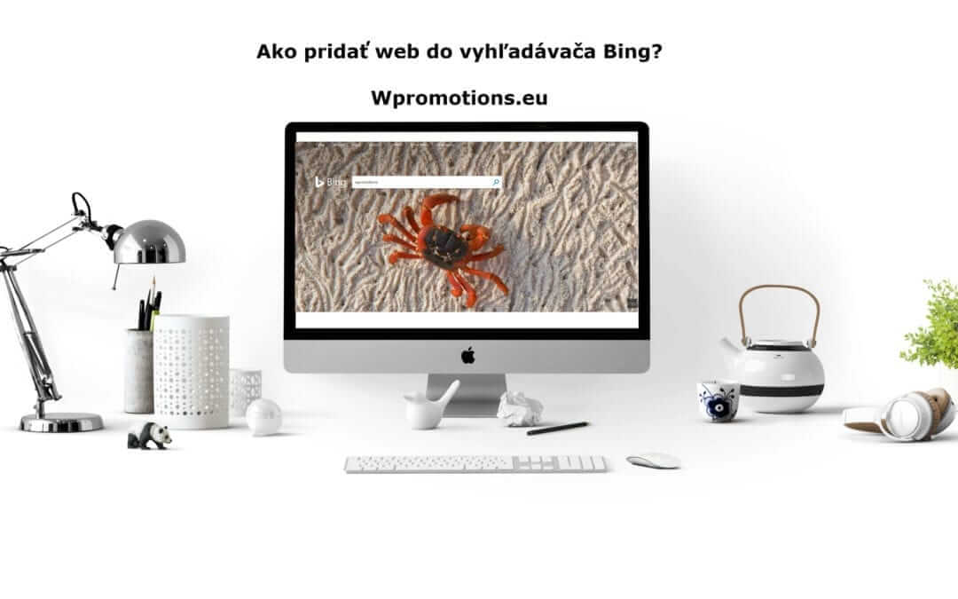 How to add Webnode website to Search engine Bing.com?