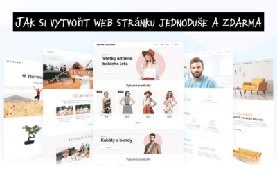 Jak si vytvořit web stránku jednoduše a zdarma (Webnode návod)