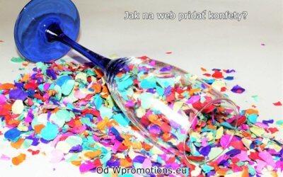Jak na web pridať padajíci konfety?