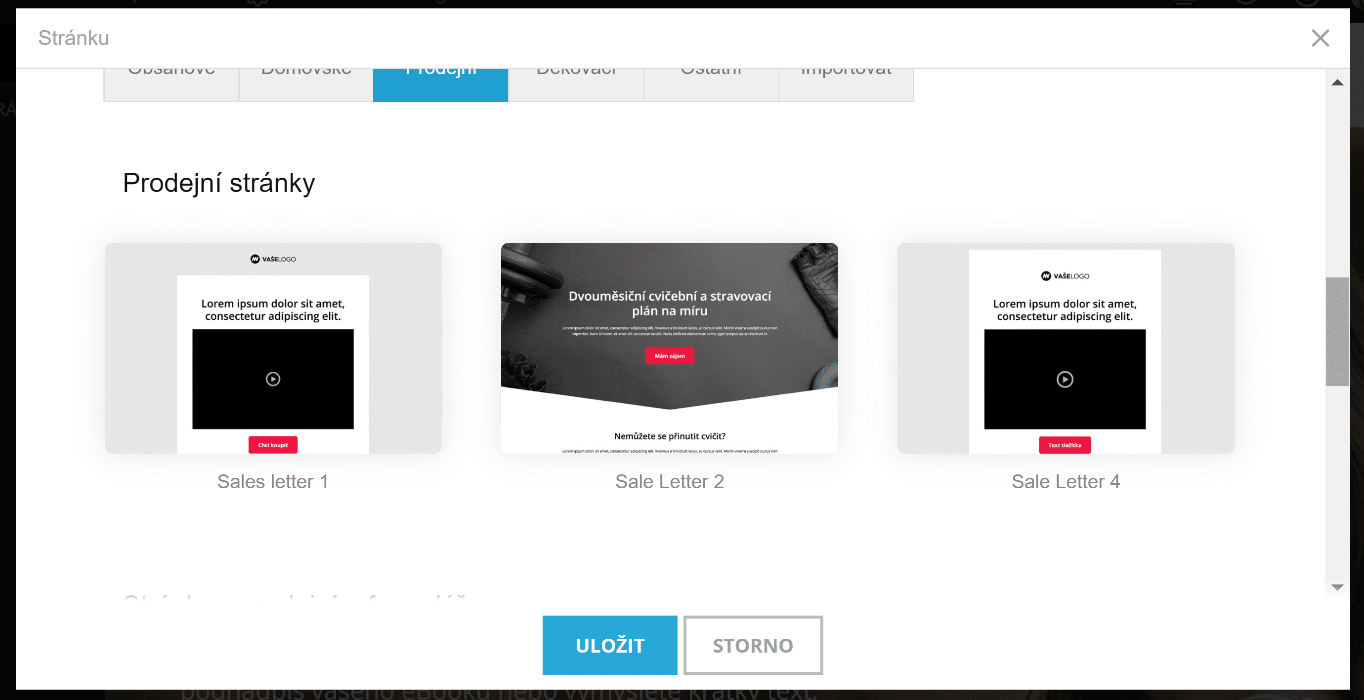 Mioweb - šablóny pre predajné stránky k okamžitému použitiu