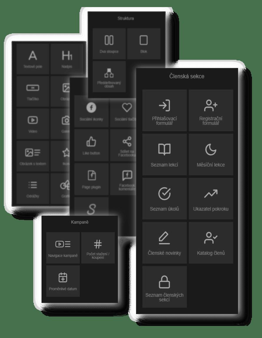 Mioweb - 45 obsahových prvkov pre okamžité použitie