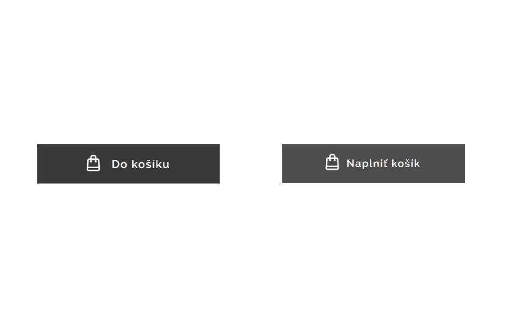 """Ako premenovať tlačítko """"Do košíku"""" vo Webnode e-shope?"""