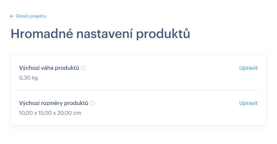 Chcete predávať produkty a nastaviť cenu podľa váhy produktu? Vo Webnode žiadny problém.