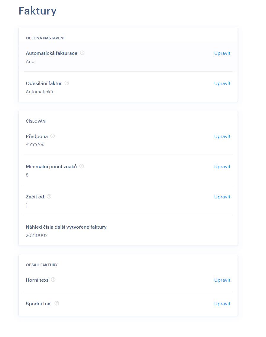 Automatická fakturácia vo Webnode. Konečne je to tu