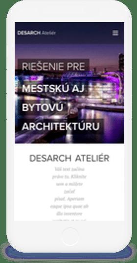 Šablóna: Architektonické štúdio - kliknutím prejdite na ofiko web
